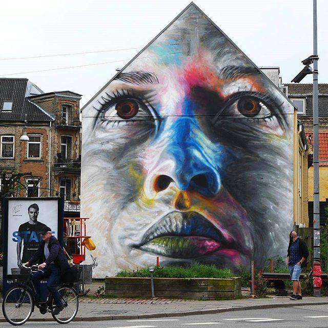 Freehand spray paint mural by artist @artofdavidwalker #supportart #support #artists #worldwide #maco #motiveartco .