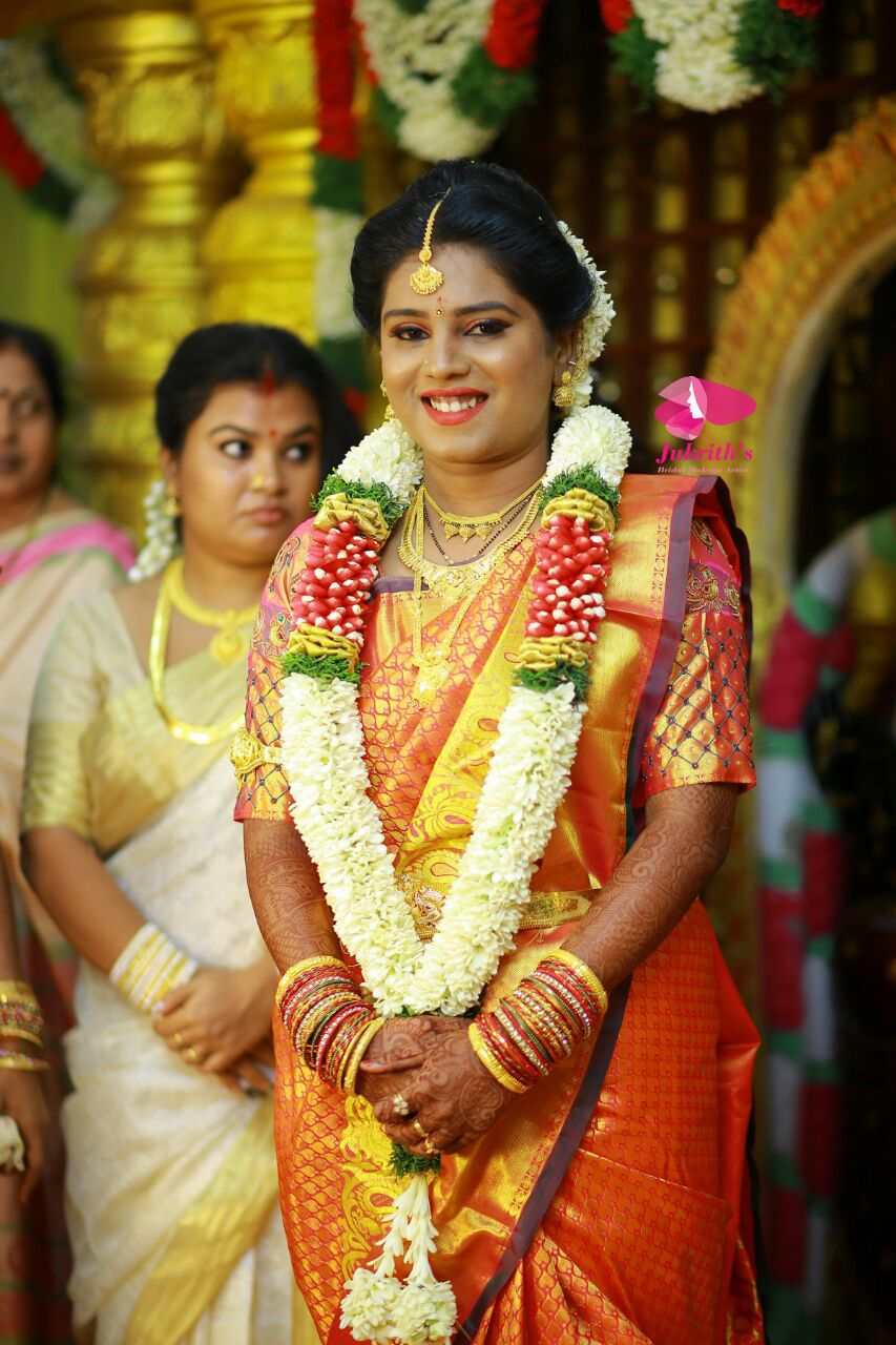 Jukriths the best bridal makeup artist in chennai for