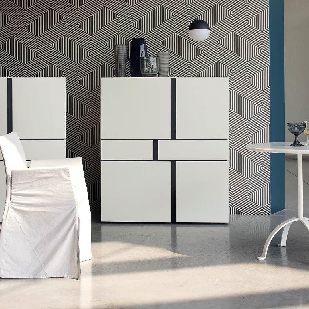 Exklusives Design Highboard Abaco von Livitalia aus Italien ...