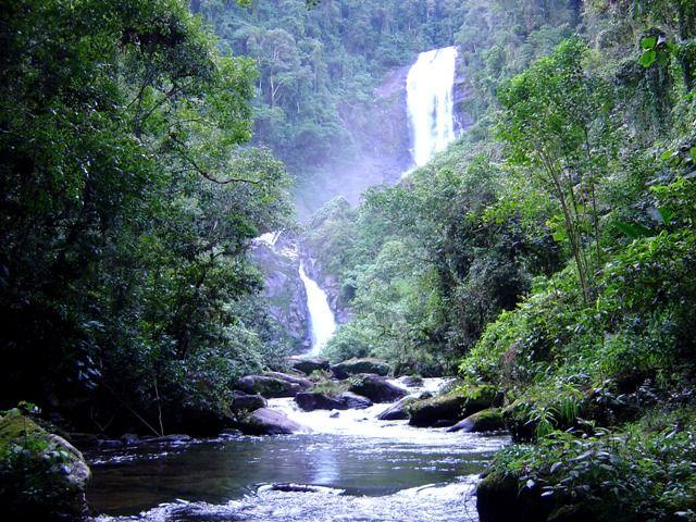 Parque Nacional da Serra da Bocaina - Piscina natural e Praia da Caixa de Aço - Brasil
