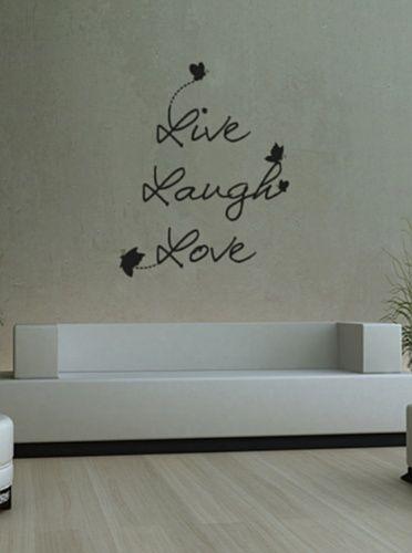 Vinilo adhesivo y decorativo con texto personalizado pegatinas de pared de alta - Vinilos decorativos pared personalizados ...