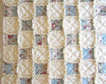 Heart Wall Hanging Heart Quilt Shabby by LittleTreasureQuilts ... : rag quilts pinterest - Adamdwight.com