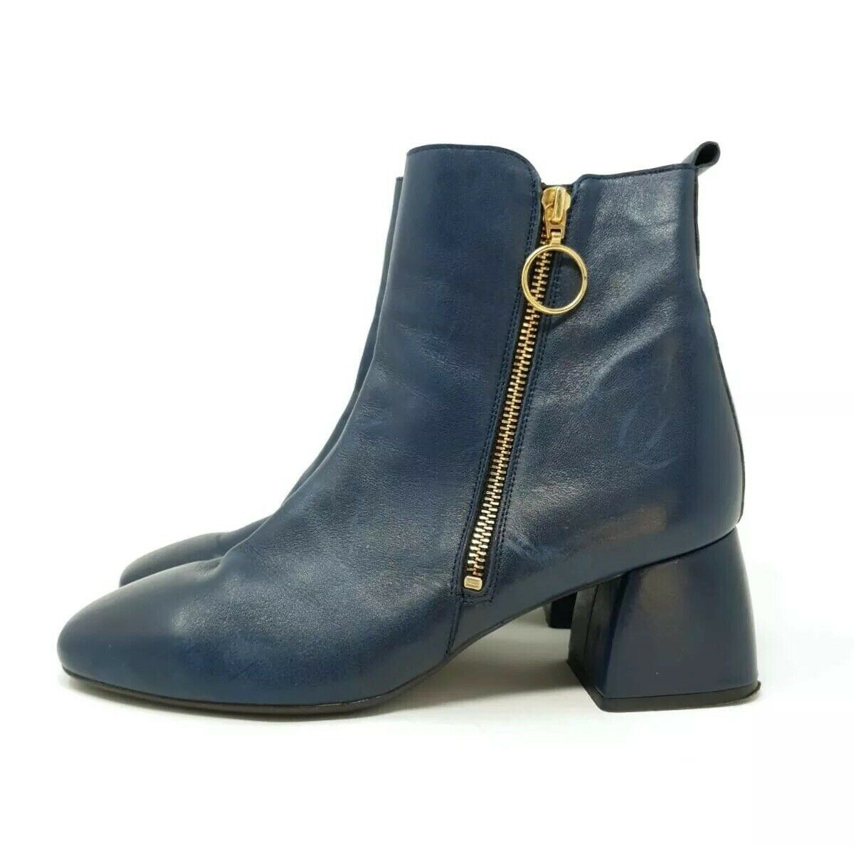 Leather Ankle Boots UK 6.5 EU