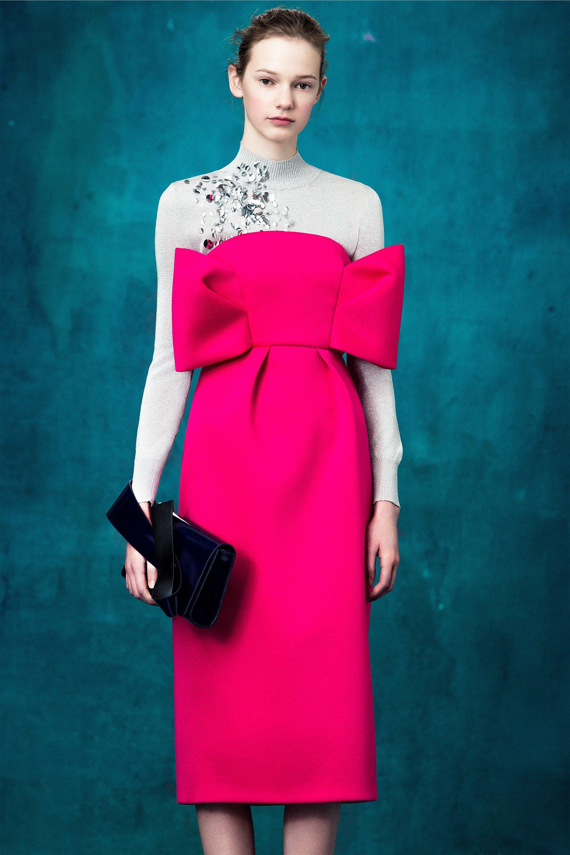 Delpozo Pre-Fall 2017 Fashion Show | Pinterest | El pozo, Costura ...