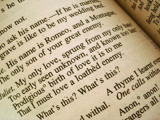romeo and juliet hate quotes