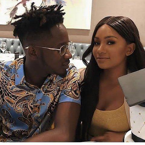 Mr Eazi and his girlfriend Temi celebrate Two year dating