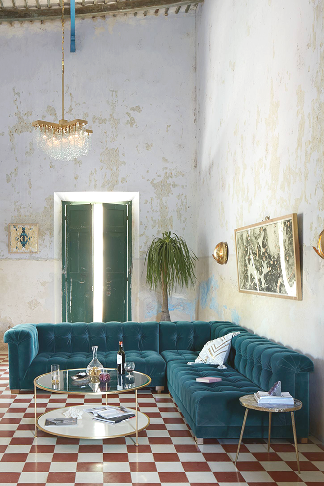 Harmony And Design   A Lifestyle Blog :: This Color Of Couch.