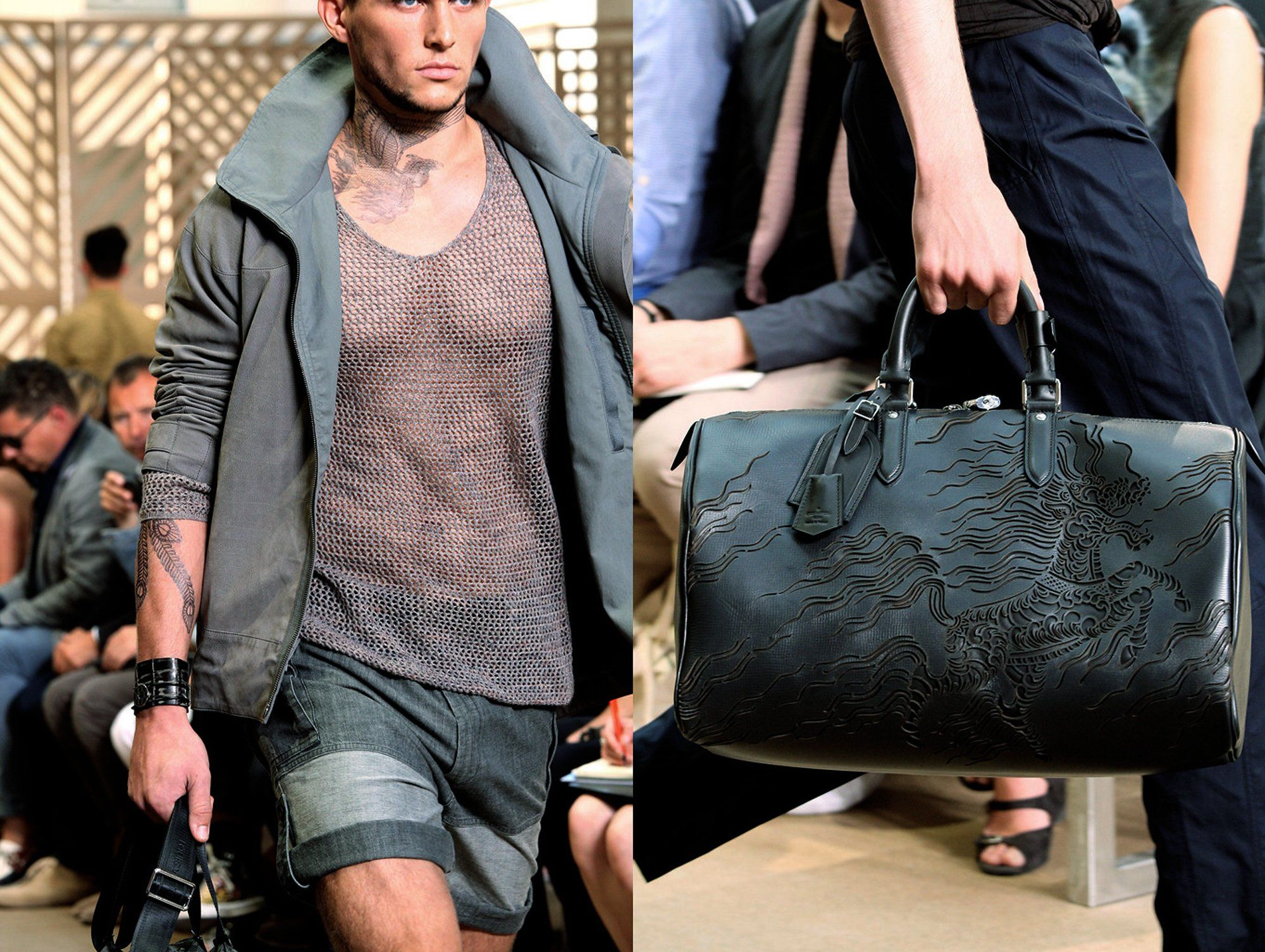 Louis Vuitton Spring 2011 Tattoos