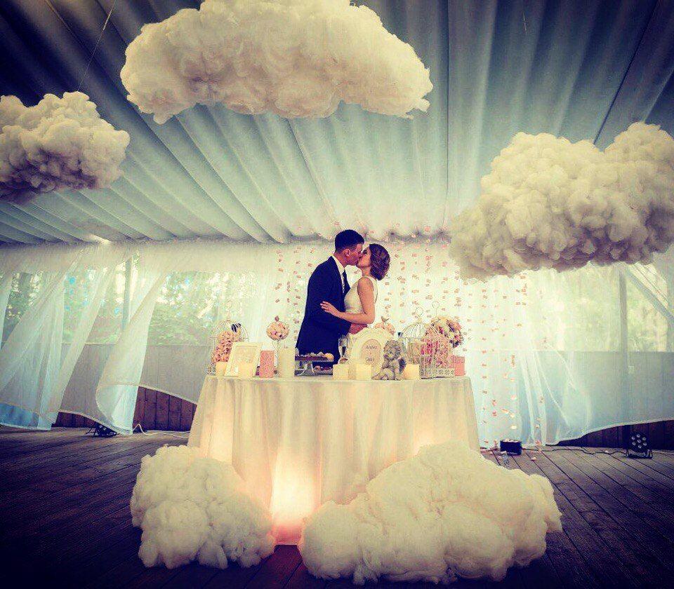 свадебный декор стиль небо воздух фото желая делать подобный