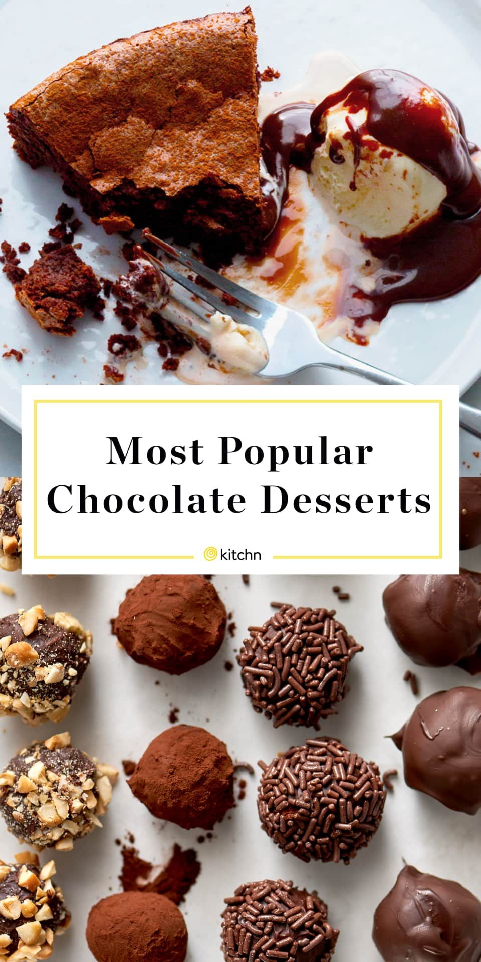 Our 10 Most Popular Chocolate Desserts Ever Easy Candy Recipes Chocolate Desserts Desserts