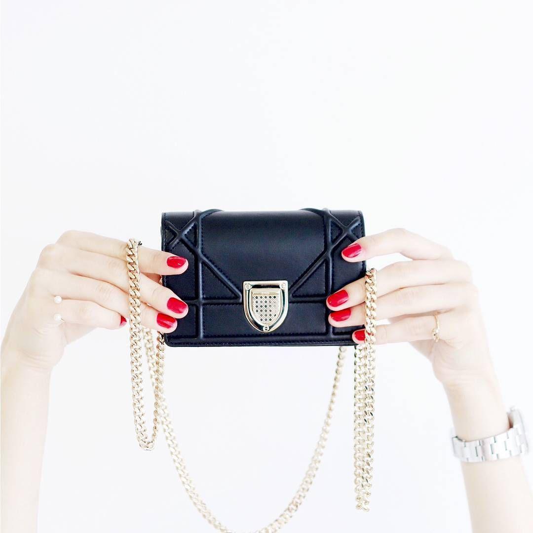 a4c838715 Dior Micro Diorama   Micro Bags   Dior, Diorama bag, Dior handbags