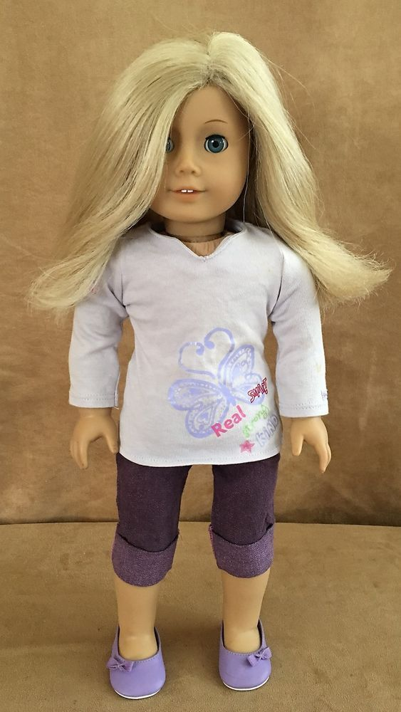 8f6c3e6c7 American Girl Doll Blonde hair blue eyes GT22 of Today 2008 JLY ...