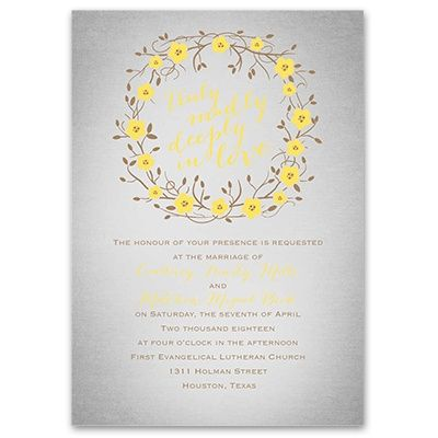 25b33ebd01295b44b4d815a0b6fcc525 truly, madly, deeply invitation simple weddings, invitations,Truly Madly Deeply Invitations