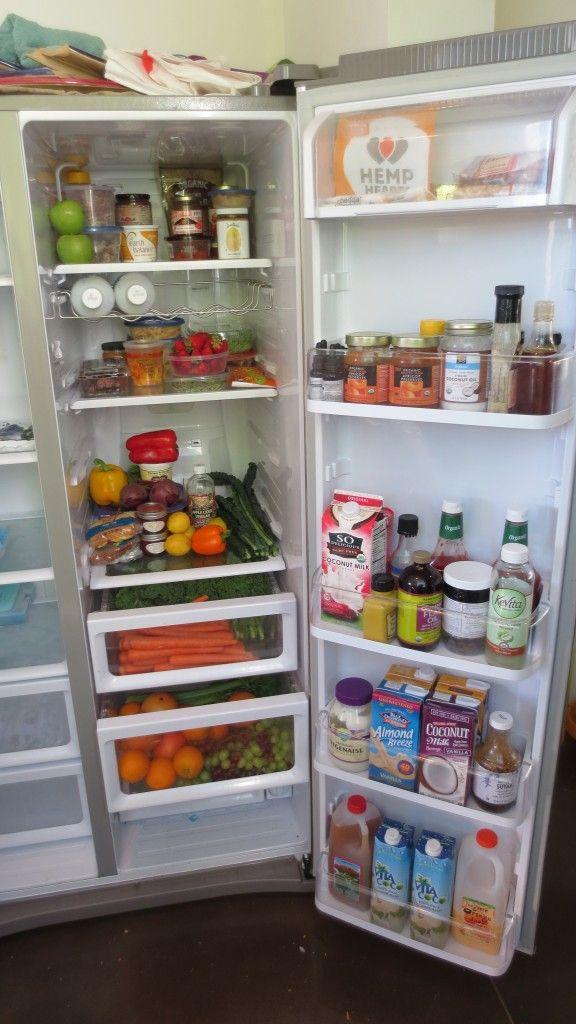 A peek inside Rich Roll's fridge. http://www.wellandgoodnyc.com/2012/08/05/refrigerator-look-book-rich-roll/#