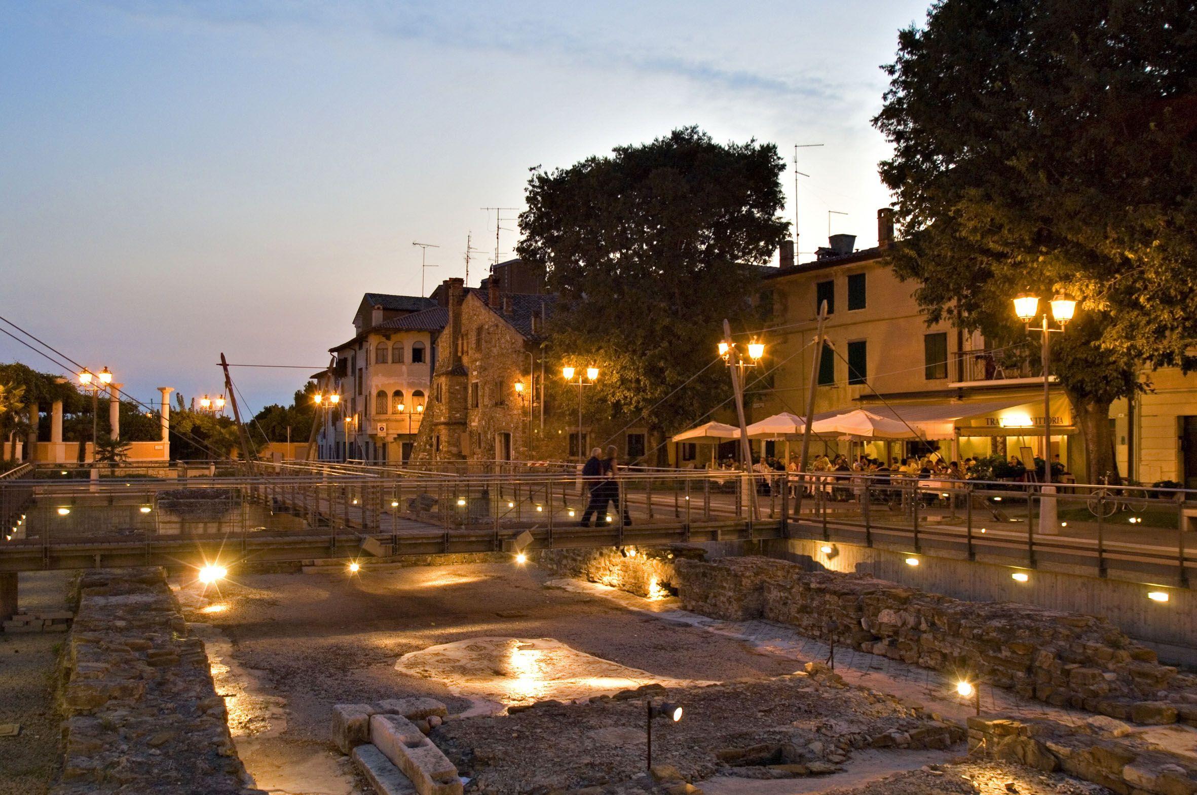 Grado - Castrum   #archeologia #FriuliVeneziaGiulia