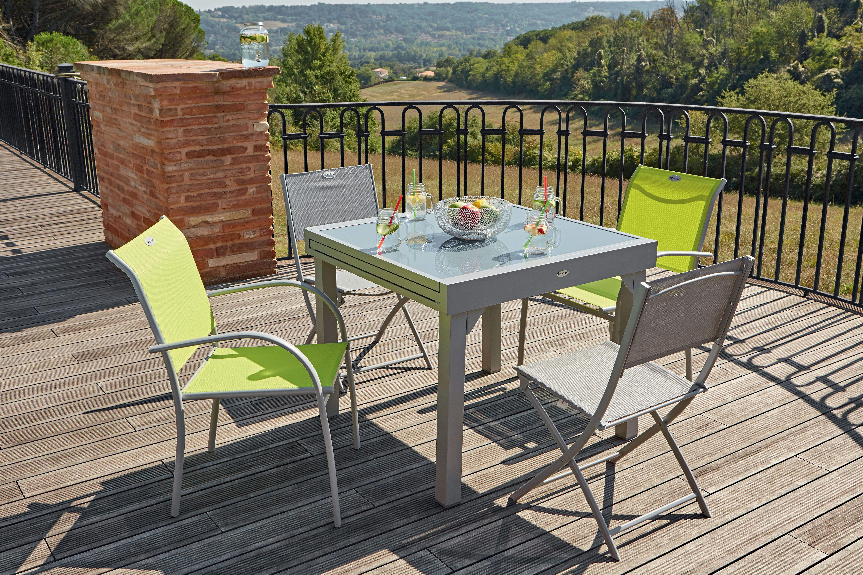 table extensible centrakor salon de jardin castorama salon de jardin table de jardin