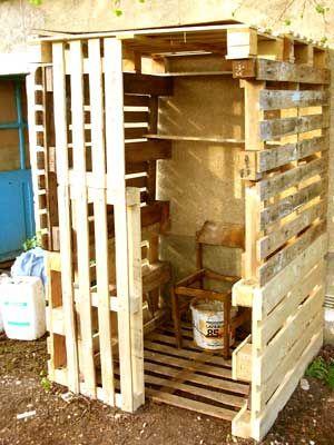 Toilette Seche Palette Bois Toilette Seche Toilettes Palette Bois