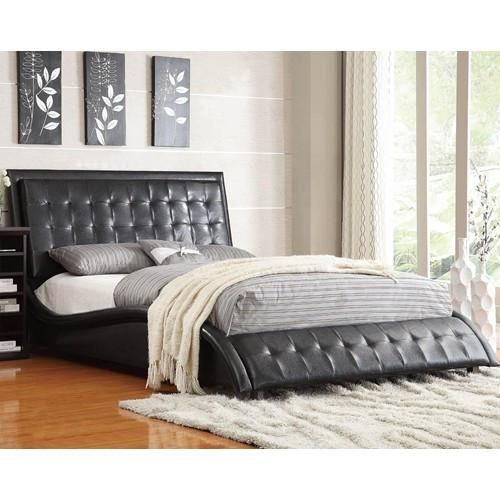Representing a fresh new take on modern comfort, this upholstered ...