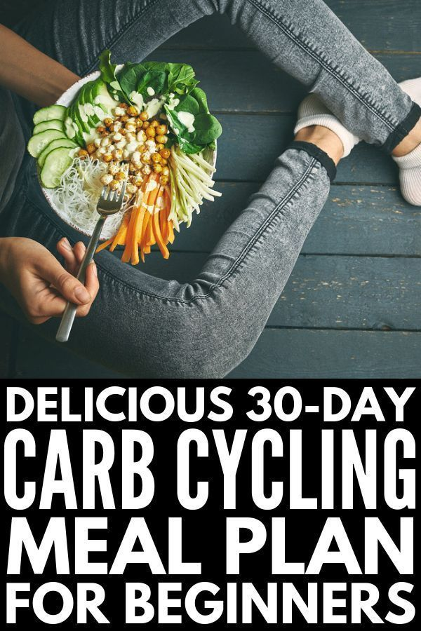 The Carb Cycling Diet for Beginners | If you want to know what carb cycling is, what foods you shoul...