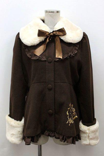 ALICE and the PIRATES / フェザーローズ刺繍のショートコート - closet child オンラインショップ