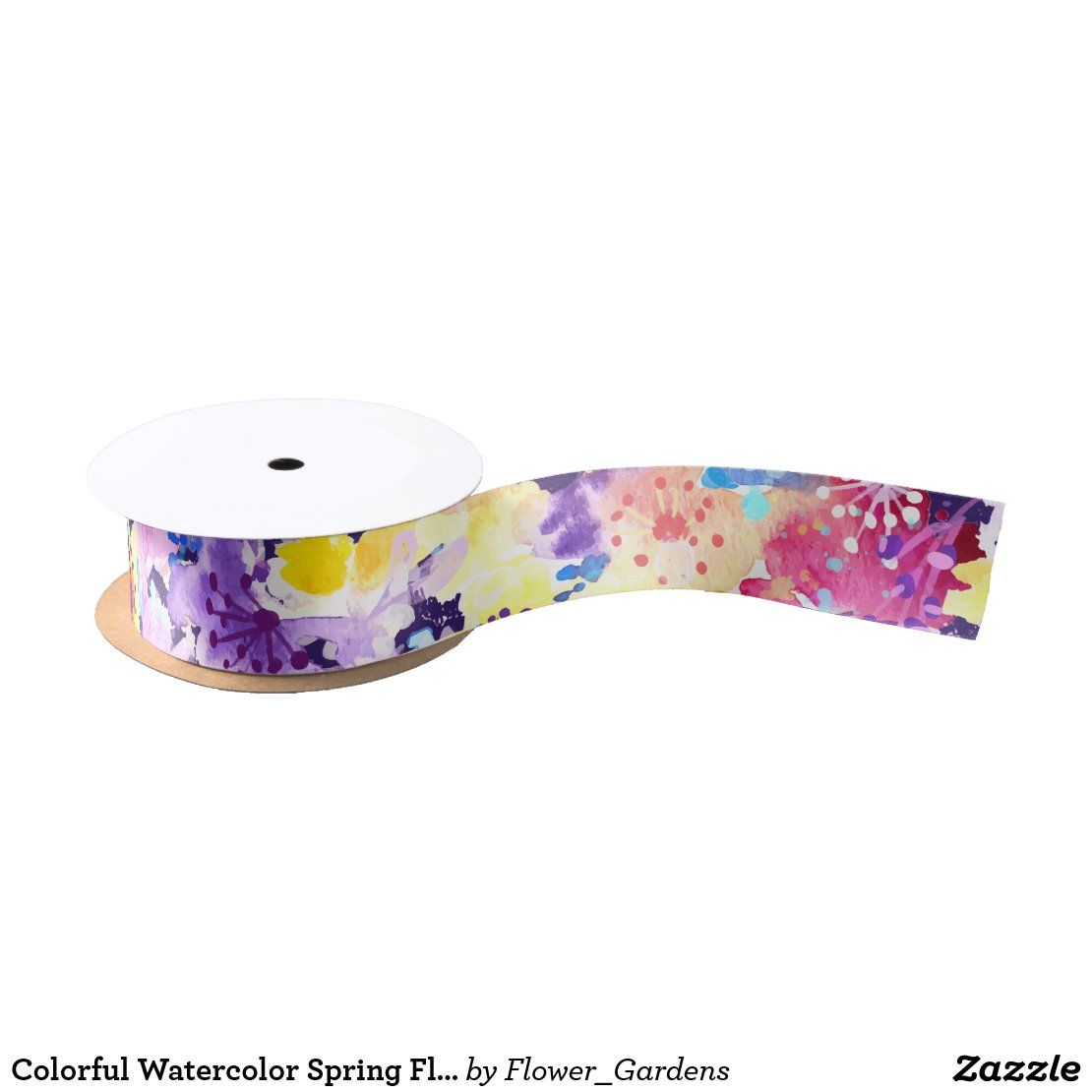 Feel the romance with this colorful watercolor spring flowers pattern. With this floral design, you will feel yourself cute, romantic and in the garden. #zazzle #watercolor #floral #flower #flowers #nature #romantic #spring #bridal  #artprint #gifts #gift #giftideas #design #unique #custom #wrapping #wrappingpaper #paper #tissuepaper #ribbon #package #giftbox #birthday #wedding #bridal #giftwrap #tags #wine #DIY
