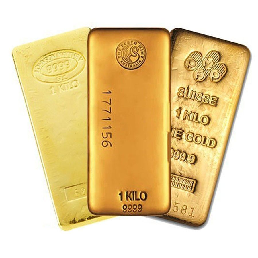 1 Kilo Generic Gold Bar Secondary Market Gold Bullion Bars Gold Bullion Coins Gold Bullion