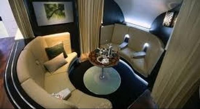 The Absurd Luxury Of A Deluxe First Class Airplane Ride First
