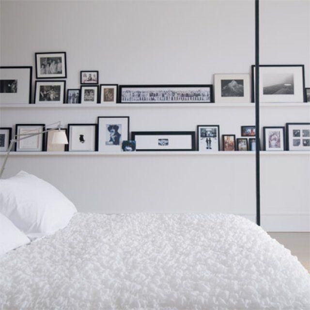 Une Chambre Design En Noir Et Blanc Chambre Design Parement
