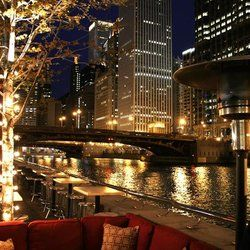 Bridge House Tavern   Chicago, IL, United States. View Of The Patio