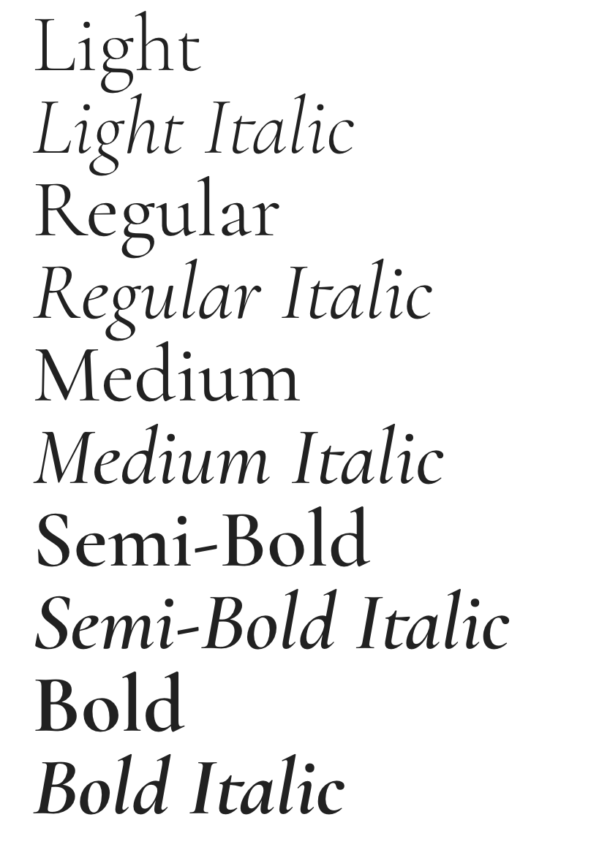 Cormorant Garamond — Google fonts | Typography Picks | Google fonts