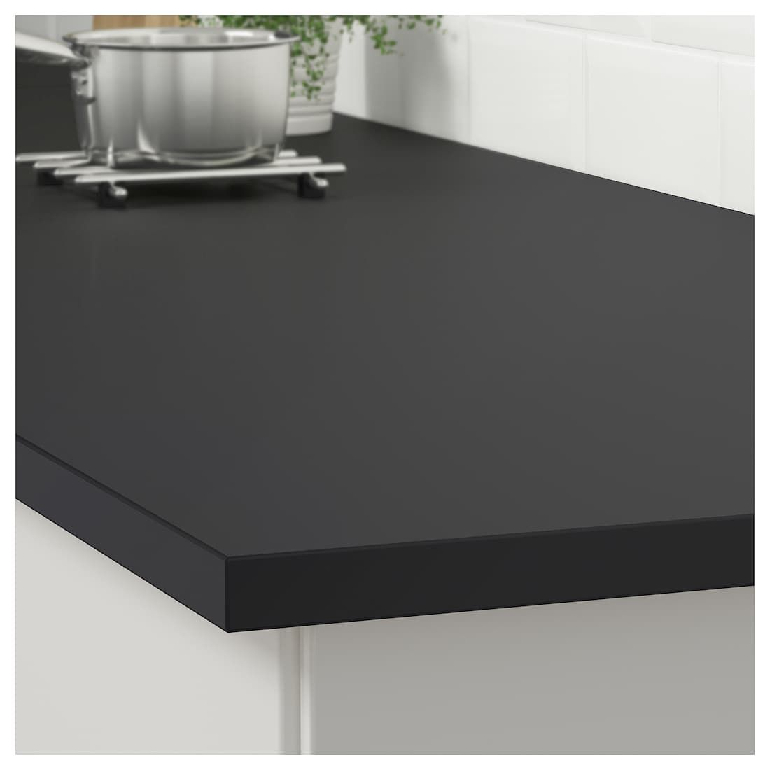 Ekbacken Countertop Matte Anthracite Laminate 74x1 1 8