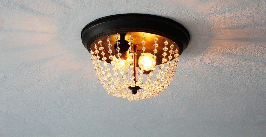 From Standard Light Fixture to Stunning Chandelier | Goodwill Industries of the Southern Piedmont