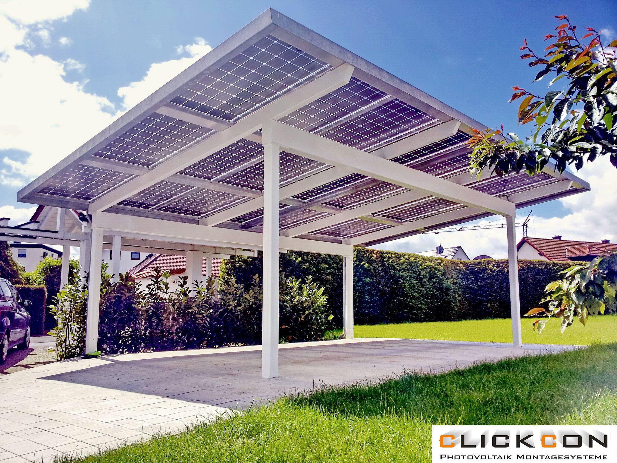 Pin auf Photovoltaik Carport