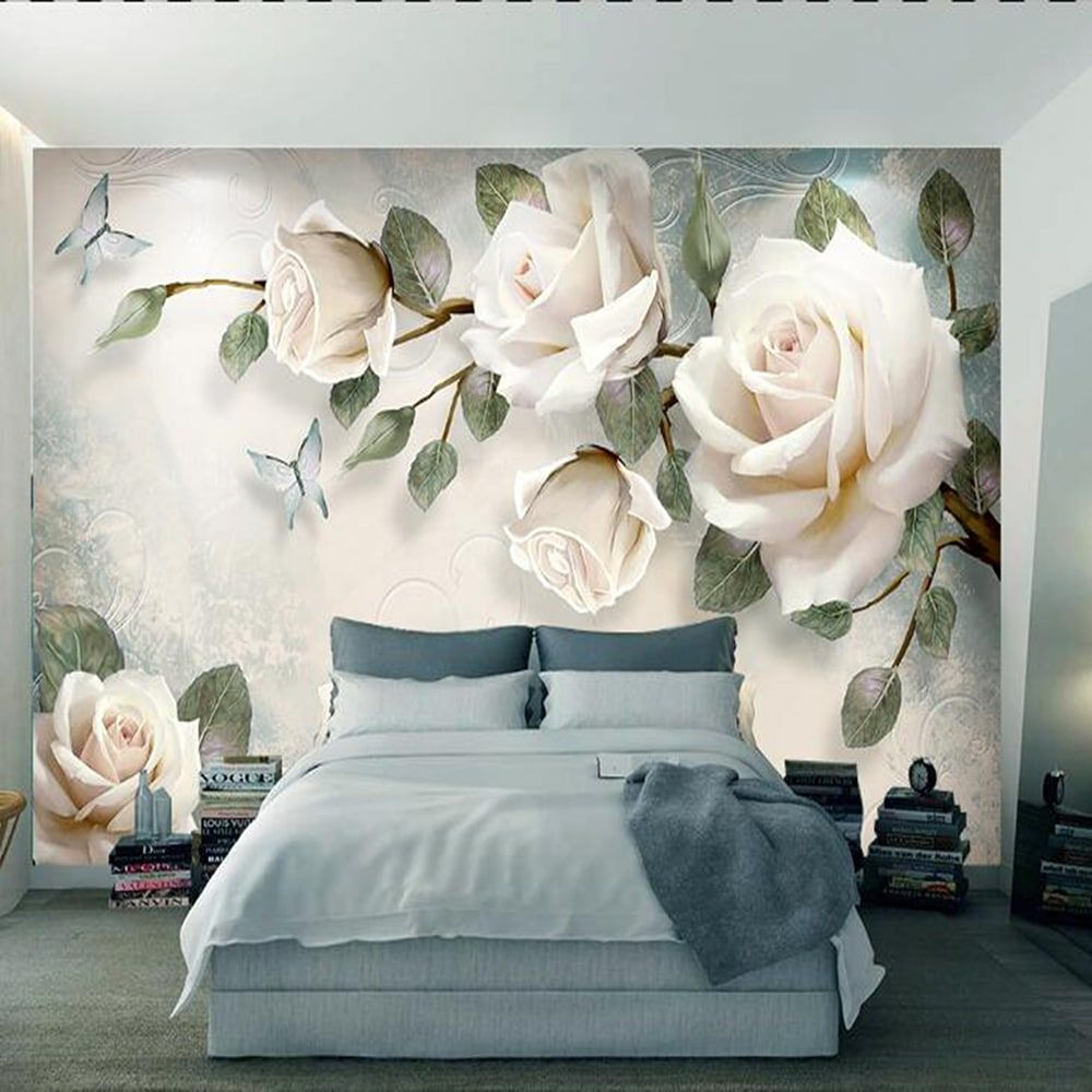3d Wallpaper For Walls Floral Wallpapers