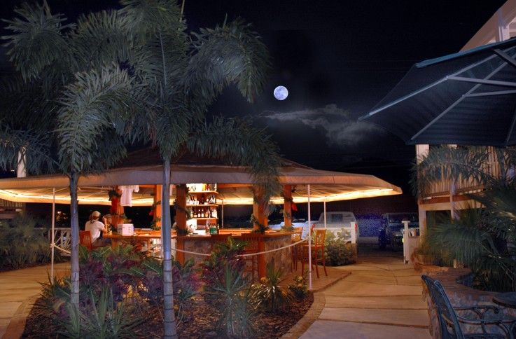 Aqua Bistro Seaside Bar | Bistro Coral Bay St John US Virgin Islands #stjohnusvi #coralbaystjohn