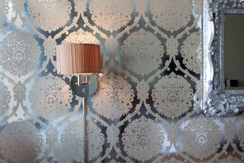 mirrored wallpaper honey i m home pinterest home decor home