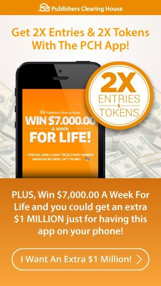Pch com win 10000000 a week for life