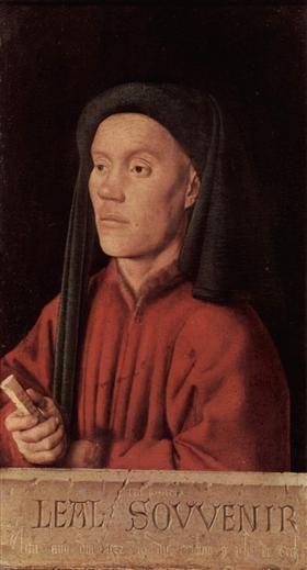 Portrait of a Young Man - Jan van Eyck
