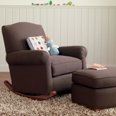 Attractive American Rocker Ottoman This Would Be So Cute In