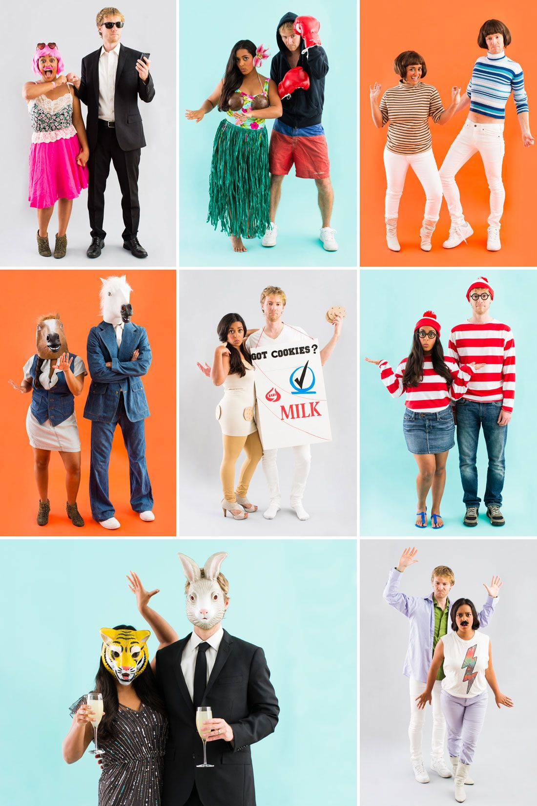 8 All-New DIY Couples Halloween Costumes | Costumes and Couples