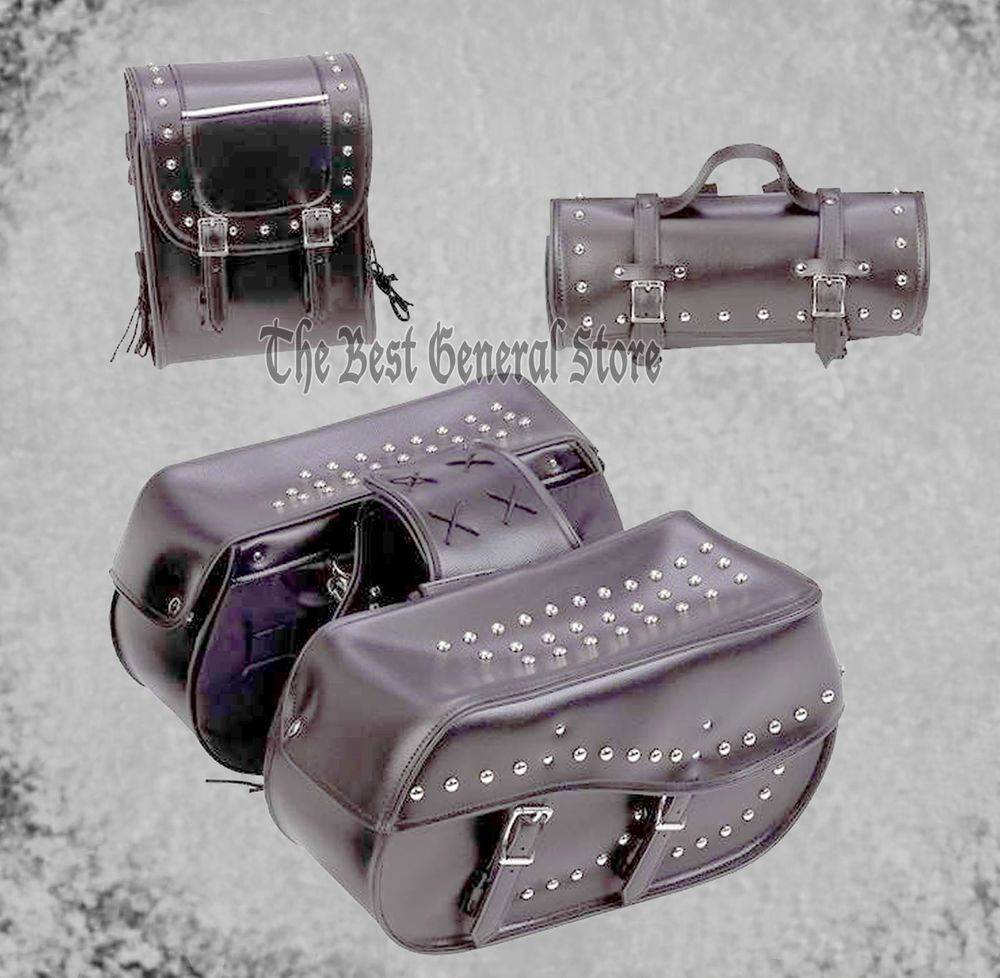 diamond plate saddle bags