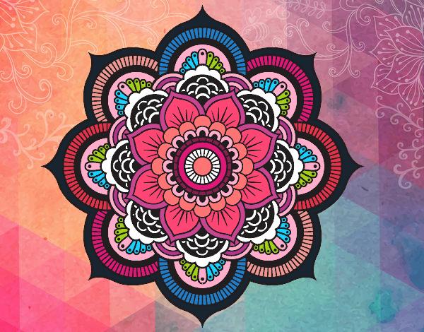 Flores Blancas Png 800 600: Mandala-flor-oriental-mandalas-9946398.jpg (600×470