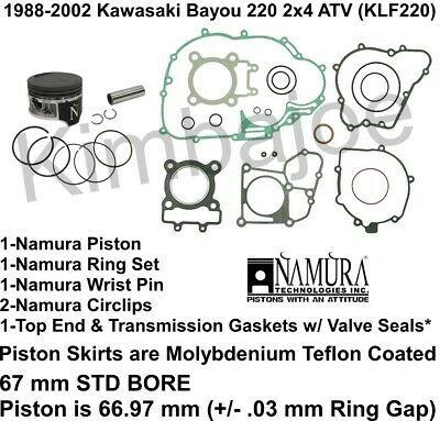 Details about 1988-2002 Kawasaki Bayou 220 KLF220 67 mm