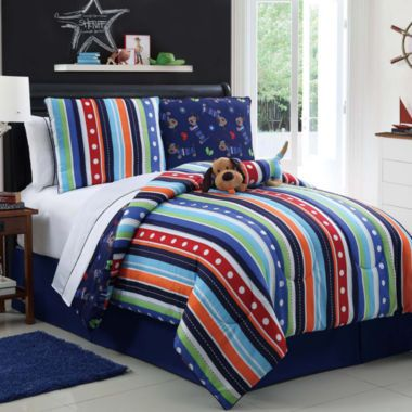 Zoomates Leo The Dog Reversible Comforter Set Found At Jcpenney