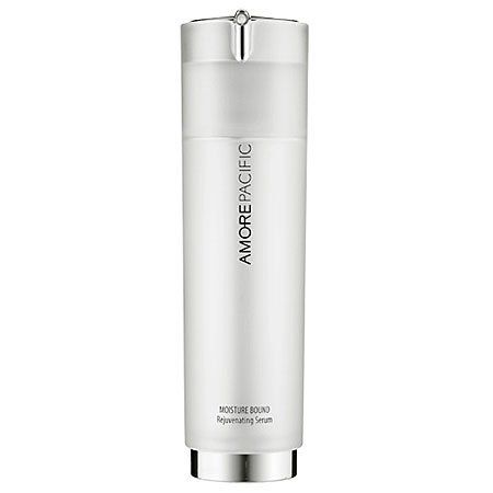 AmorePacific Rejuvenating Serum 1.7 oz by AmorePacific. $100.00. What it is: A highly concentrated, lightweight, and oil-free treatment that quickly penetrates to visibly improve skin's texture, tone, and radiance.  What it is formulated to do:This treatment, formulated with Amore Pacific's exclusive 5 Hydra ComplexTM, minimizes fine lines and wrinkles by increasing hydration levels. Its 24-hour time-release formula works to restore density, revealing smooth and youthful...