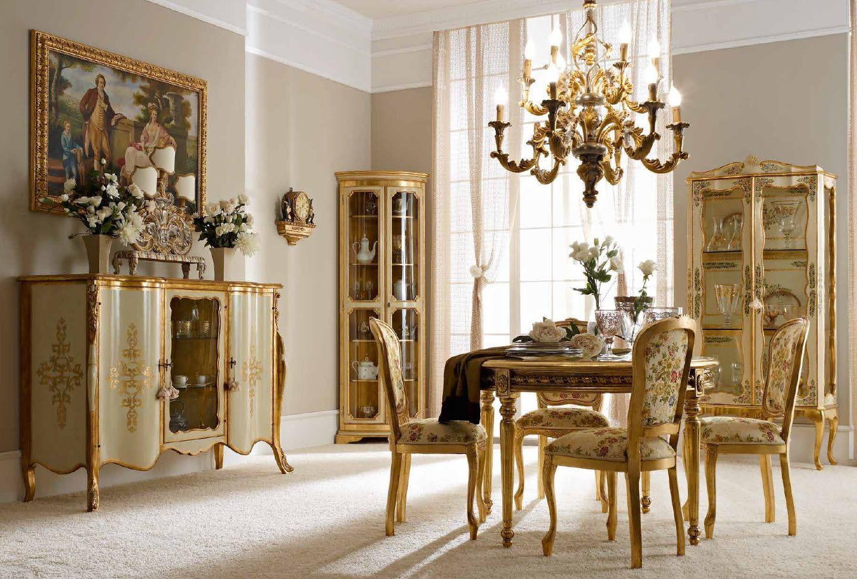 Mobili Fanfani ~ Mobili per il soggiorno classico e di lusso in stile veneziano e