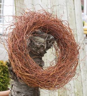 Photo of Wicker wreath: the bigger, the more beautiful