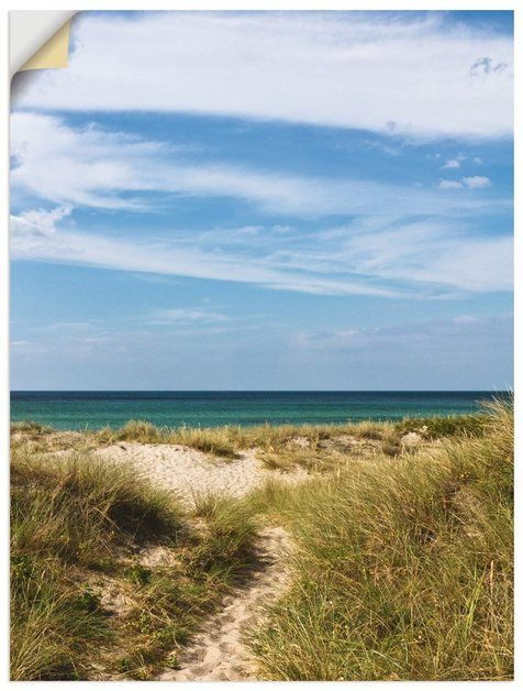 Photo of Buy Artland wall film »Anja Ergler: In the dunes of Denmark« online OTTO