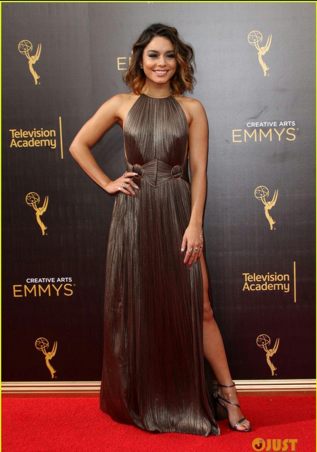 903f24ce13fd9 Vanessa Hudgens 2016 Emmy s   project runway wannabe   Vanessa ...