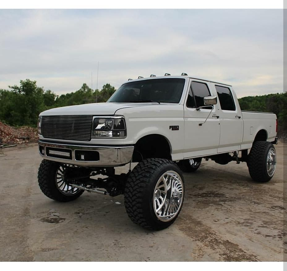 Old School Meets New School Tayler Made 91 Jacked Up Trucks